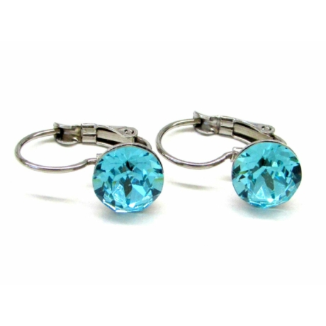 MARILYN fülbevaló (light turquoise)