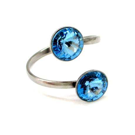 DUPLA VENUS gyűrű (aquamarine)