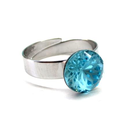 MANDALA gyűrű (aquamarine)