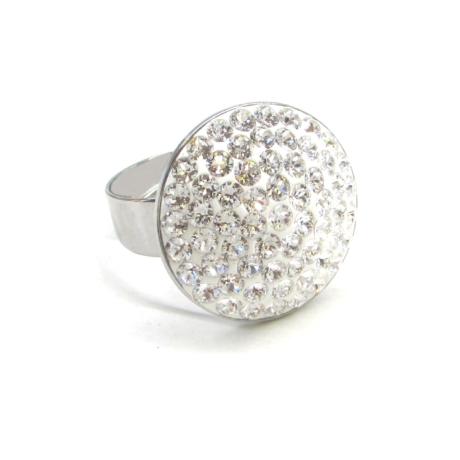 HÉRA gyűrű (nagy 20 mm-es fehér)