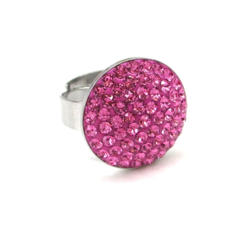 HÉRA gyűrű (nagy 20 mm-es rose)