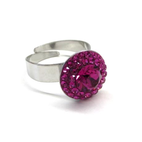 APHRODITÉ gyűrű (fuchsia)