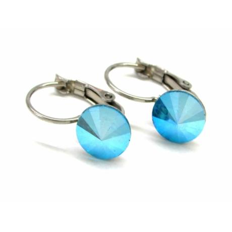 MONROE fülbevaló (blue zircon shimmer)