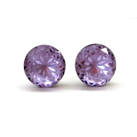 MANDALA bedugós fülbevaló (violet)