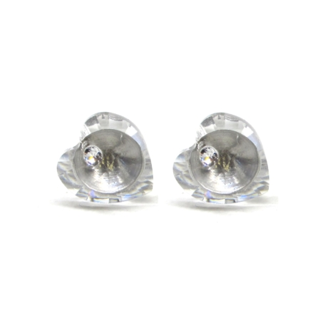 SZERELEM fülbevaló (crystal)