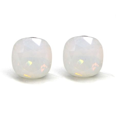 NAGY PÁRNA fülbevaló (white opal)