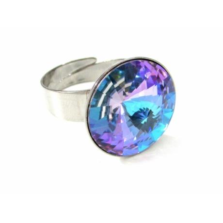 Óriás gyűrű (színjátszós lila)