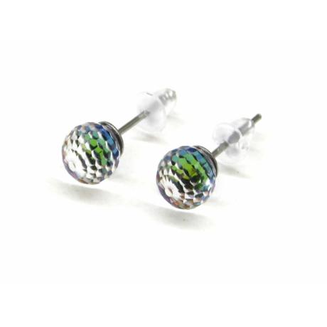 DISCO  fülbevaló (zöld)