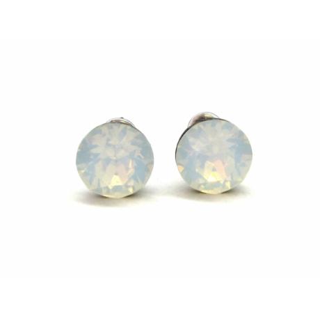 XENA fülbevaló (white opal)