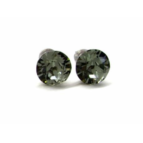 XENA fülbevaló (black diamond)