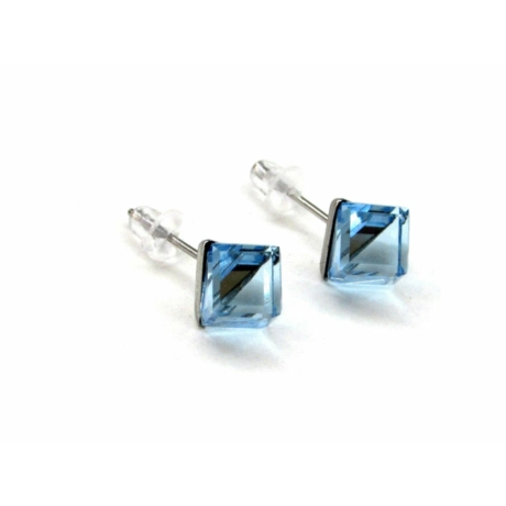 HANNA fülbevaló (aquamarine)