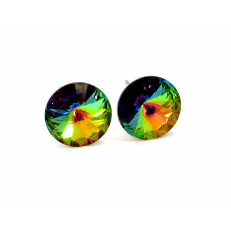 SOPHIA fülbevaló (vm zöld)