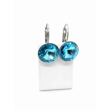 DIANA 12 fülbevaló (light turquoise)