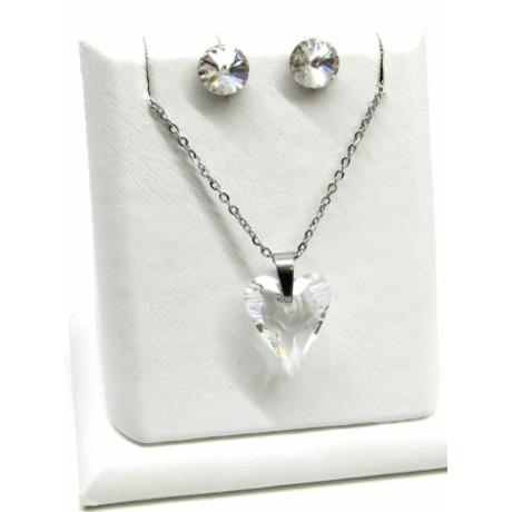 Karcsúsított szív szett (crystal)