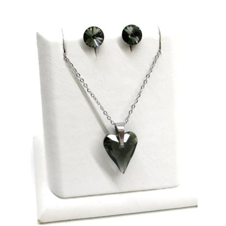 Karcsúsított szív szett (black diamond)