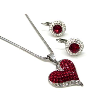 Díszes szív szett (scarlet)